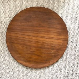 LARGE WOODEN LIGHT WEIGHT DECORATIVE TRAY